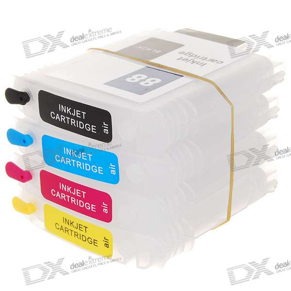 HL-88/18 Color Ink Jet Cartridges for HP Officejet Pro K550/5300/5400/7380/7580/7590 Printers