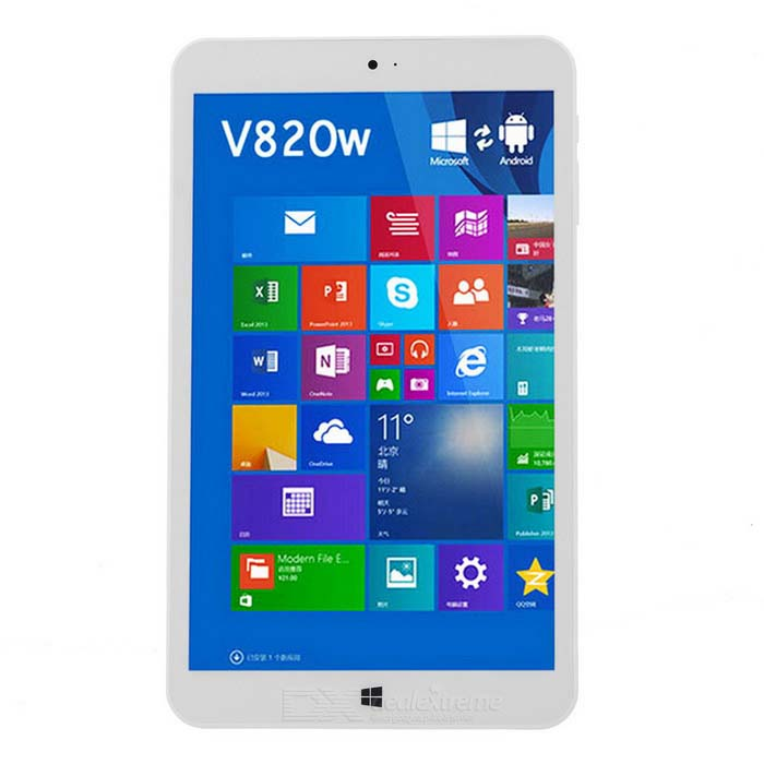 Onda 8 V820w Quad-Core Dual-OS Tablet PC w/ 2GB RAM, 32GB ROM - White